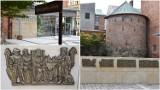 Tarnów. Skwer przy ulicy Wałowej w nowej odsłonie. Na murku pojawiły się płaskorzeźby z historią Tarnowa [ZDJĘCIA]
