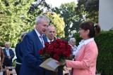 Rozpoczęcie roku szkolnego w ZSR Grzybno. Pierwszy dzwonek zabrzmiał dla ponad 300 uczniów i nowej dyrektor ZSR w Grzybnie