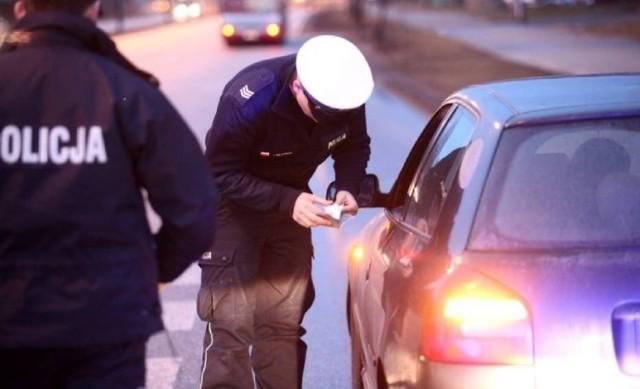 Pijany kierowca został zatrzymany w Komornikach w gminie Wolbórz