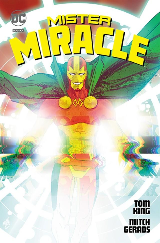 DC Deluxe. Mister Miracle Scenariusz: Tom King Rysunki: Mitch Gerads Przekład: Marceli Szpak Oprawa: twarda z obwolutą Objętość: 320 stron Format: 180x275 Cena: 119,99 ISBN: 978-83-281-9620-9 Język oryginału: angielski Seria: DC Deluxe Kategoria: komiks amerykański Tematyka: superbohaterowie Scott Free to największy żyjący mistrz ucieczek. Jest tak dobry, że udało mu się uciec z makabrycznego sierocińca Babci samo Dobro na Apokolips i osiąść na Ziemi z inną uciekinierką – Big Bardą. Tu, pod pseudonimem Mister Miracle, zrobił karierę jako iluzjonista i dzięki swoim umiejętnościom dołączył do Ligi Sprawiedliwości. Wydaje się, że jako mistrz ucieczek osiągnął wszystko. A jednak… nigdy nie uciekł śmierci. Czy to możliwe? Aby się tego dowiedzieć, Scott będzie musiał się zabić… Autorem scenariusza jest laureat Nagrody Eisnera dla najlepszego scenarzysty Tom King Batman – Pewnego dnia, a rysunków – Mitch Gerads The Sheriff of Babylon.