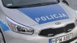 Wieczorny pościg policji ulicami Szczecinka. Kolizja na koniec pogoni