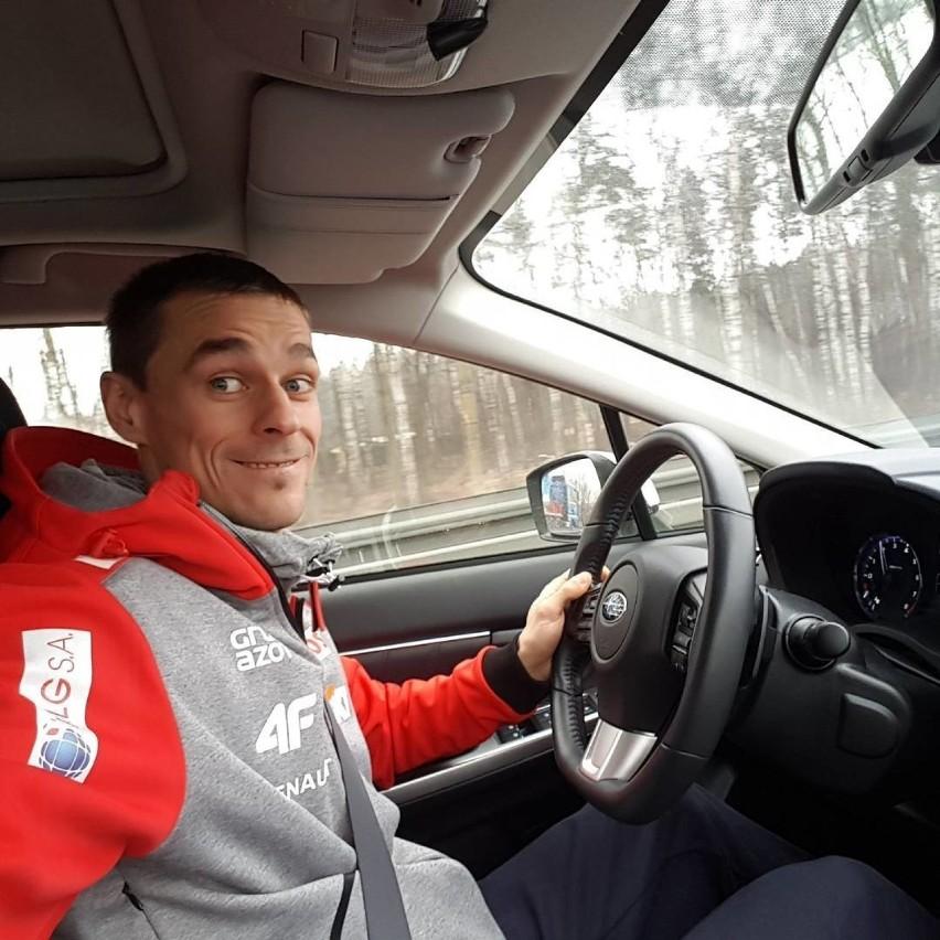 Piotr Żyła jest nie tylko świetnym skoczkiem narciarskim,...