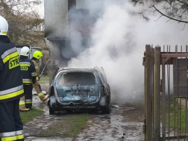 Wybuch samochodowej butli gazowej w jednym z przydomowych garażów w Michalu nastąpił 11 kwietnia