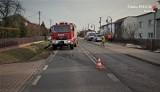 Wypadek w Ornontowicach. 52-letni motocyklista z podejrzeniem ciężkich urazów trafił do szpitala. Są wstępne ustalenia policji
