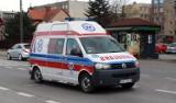 Nowy Sącz. Cztery smochody rozbite na DK 28. Młoda kobieta w szpitalu