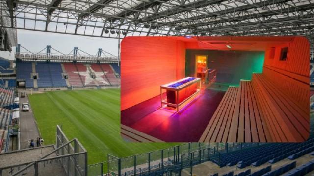 Pod trybuną południową stadionu Wisły powstają Termy Krakowskie Błonia.