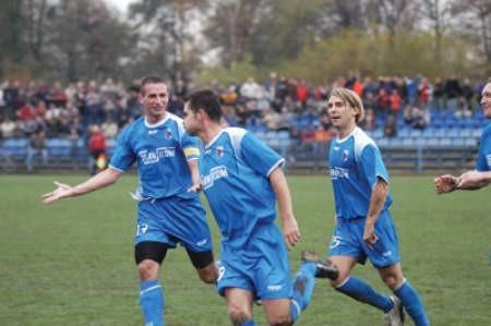 Piłkarze Beskidu mieli w tym roku wiele powodów do radości. Ostatni raz, gdy zdecydowanie pokonali lidera, Energetyka Rybnik, 3:0.