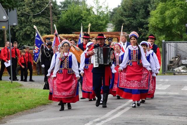 Dożynki 2021 w Woli Wapowskiej (gmina Kruszwica). Zobaczcie zdjęcia >>>>