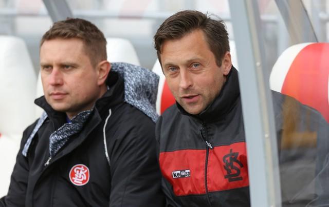 Wojciech Robaszek (z lewej) i Marcin Pyrdoł