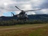 Siły zbrojne w akcji. Działania poszukiwawczo-ratownicza po zdarzeniu lotniczym