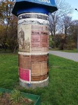Niemieckie plakaty w Bytomiu. To część akcji przypominająca o plebiscycie na Górnym Śląsku