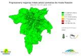 Dobre prognozy indeksu jakości powietrza w Rzeszowie [MAPY]
