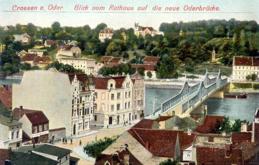 1910 rok okiem wieży krośnieńskiego ratusza.