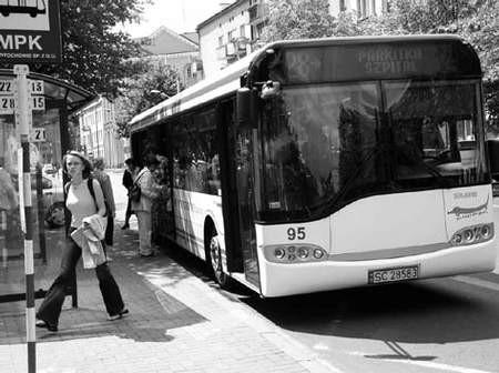 Pasażerowie miejskiej komunikacji mogą się dowiedzieć, na których liniach danego dnia są wzmożone kontrole biletów. fot. VIOLETTA GRADEK