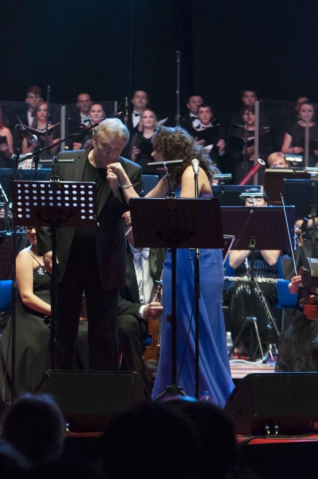 Aleksandra Kurzak i Krzysztof Cugowski - koncert Dwa żywioły we Wrocławiu (27 września 2015)