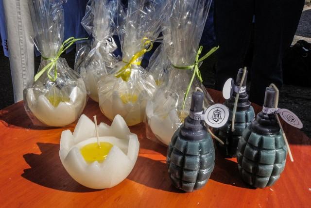 W ostatnią niedzielę przed Wielkanocą, zwaną Niedzielą Palmową odbyła się świąteczna giełda na bydgoskim Chemiku.