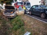 Groźny wypadek w Miłochniewicach. Cztery osoby ranne ZDJĘCIA