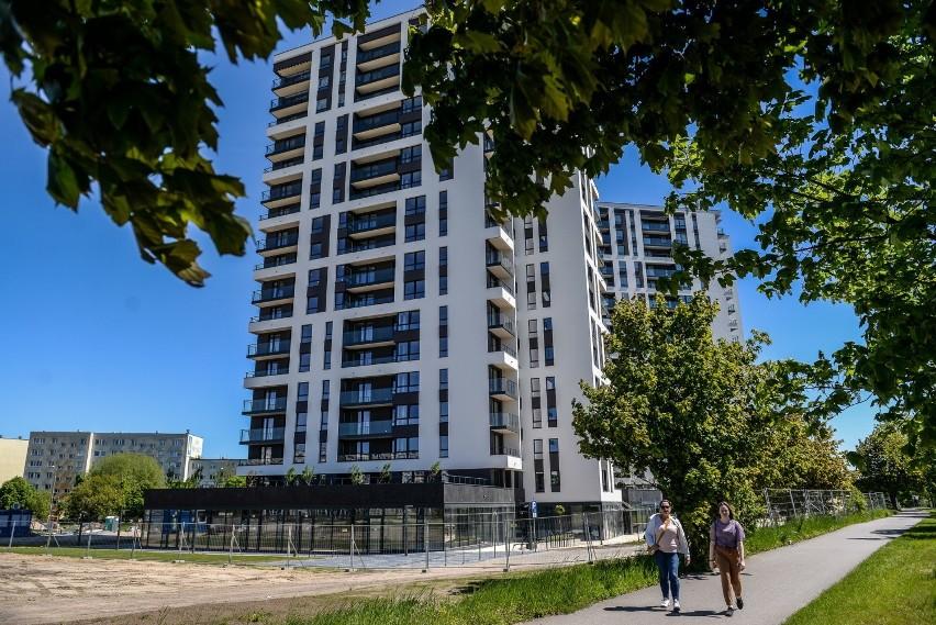Budowane przez Budimex Nieruchomości dwa budynki na pasie...