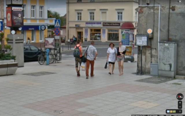 Kamery Google Street View na ulicach Żar. Sprawdźcie, co się zmieniło.