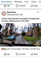 Grodzisk Wielkopolski: O krok od tragedii na przejściu dla pieszych! Peugeotem kierowała...