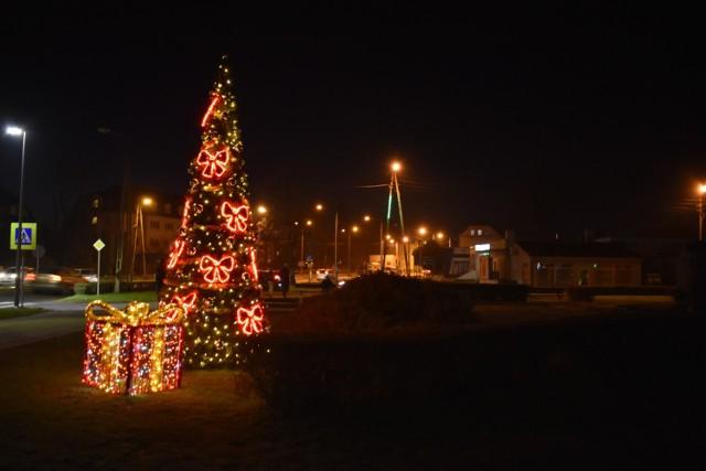 Tak wyglądały iluminacje świąteczne w Krośnie Odrzańskim rok temu.