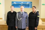 Dwoje nowych funkcjonariuszy w gnieźnieńskiej policji