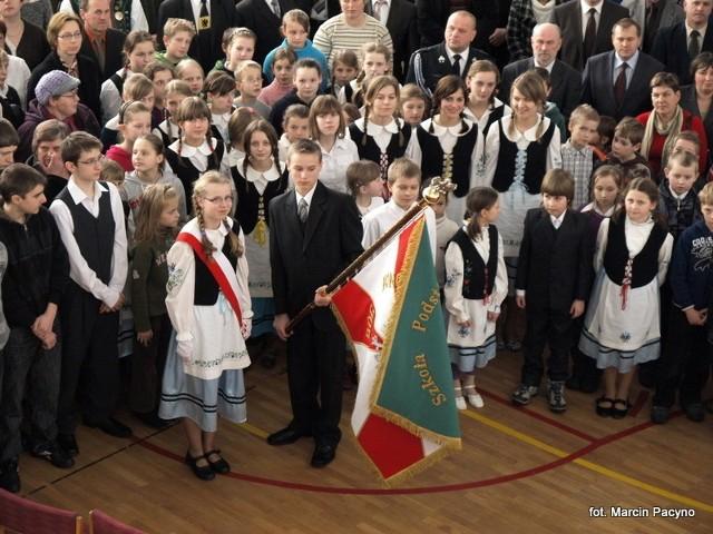 Uroczystość nadania imienia szkole w Borowym Młynie