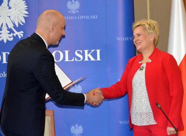 Teresa Barańska została nowym wicewojewodą opolskim. Zastąpi na tym stanowisku Violettę Porowską.