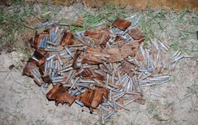 Biłgoraj: Wyorał amunicję z czasów II wojny światowej