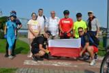 Rajd rowerowy wzdłuż Wisły po powiecie tczewskim