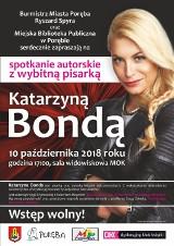 Spotkanie autorskie z Katarzyną Bondą w Porębie