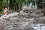 Ruszają kolejne prace przy przebudowie ul. Królowej Jadwigi. Będą utrudnienia w ruchu