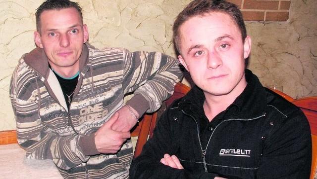 Tomasz Szpak i Sebastian Budźko padli ofiarą oszustki