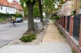 Remont chodnika przy ulicy Jadwigi w Strzegomiu [ZDJĘCIA]