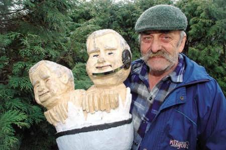 Janusz Rakowski na emeryturze odkrył nowe hobby.