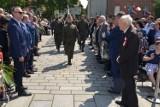 Święto Konstytucji 3 Maja w Gnieźnie. Podczas uroczystości nadano stopień oficerski Żołnierzowi Wyklętemu z Gniezna