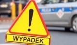 Tragiczny wypadek w Steklinku na drodze krajowej nr 10. Zderzenie dwóch samochodów. Jedna osoba nie żyje