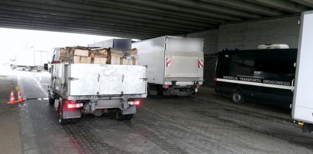 ITD Gniezno: za ciężkie transporty drewna - kierowcy dostali mandaty