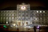 Zobaczyliśmy próbkę iluminacji Urzędu Miasta w Szczecinie [film, zdjęcia]