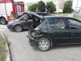 Groźny wypadek w Busku. Zderzyły się trzy samochody. Rannych troje dzieci