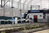 Trwa remont dworca PKP w Legnicy. Jest nowy termin zakończenia, zobaczcie zdjęcia