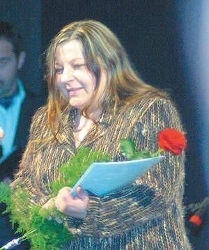 Teresa Radziewicz wygrała konkurs na najlepszy wiersz.
