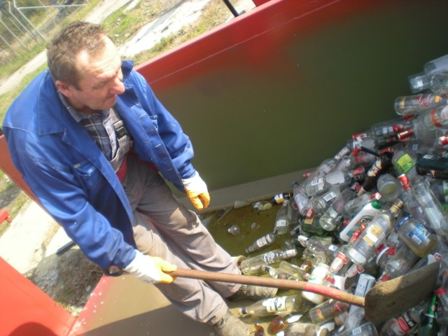 Posegregowane śmieci oddaje w 30-tysięcznej  Bochni 19 tysięcy mieszkańców