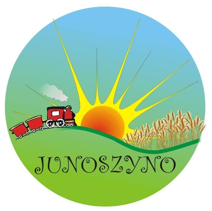 Logo Junoszyna, które stworzyła Dorota Warszewska