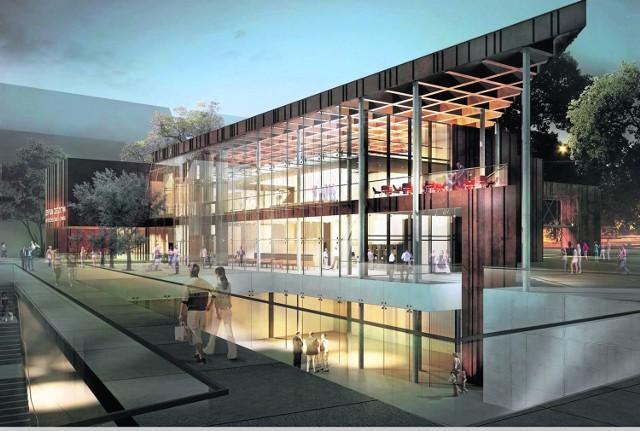Tak Forum Radunia będzie wyglądać w 2016 roku, gdy zakończy się budowa nowoczesnego kompleksu.
