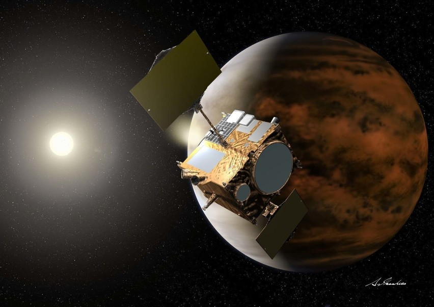 Japońskiej sondzie AKATSUKI udało się wejść na orbitę Wenus. Druga próba okazała się udana