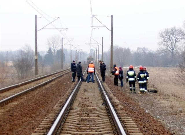 Wypadek na torach w Solcu Kujawskim