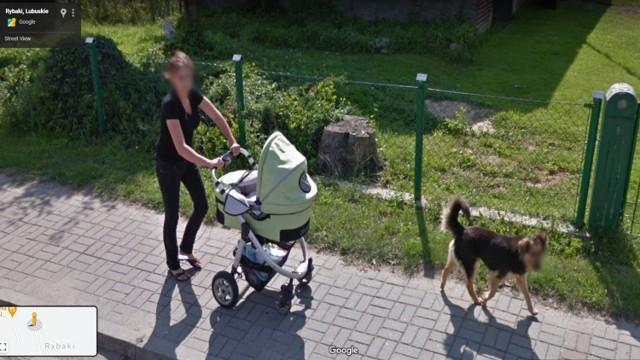 Google Street View w gminie Maszewo. Kamery Google złapały kilku mieszkańców. Czy na przestrzeni lat zmieniły się miejscowości gm. Maszewo?