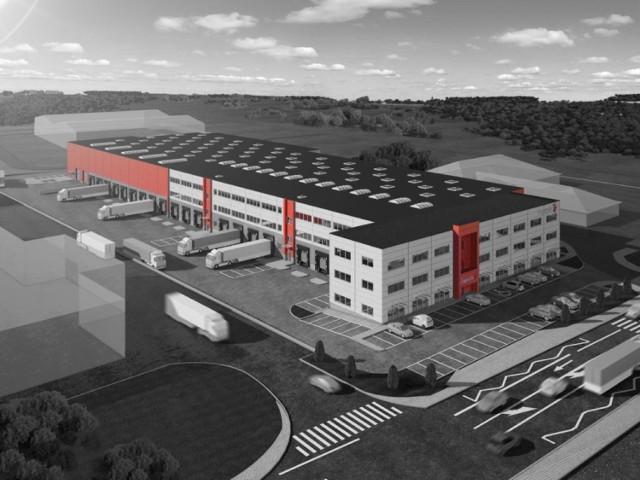 Nowa inwestycja 7R Logistic S.A.  właśnie osiągnęła stan surowy ...