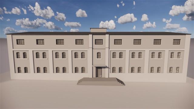 Dawny spichlerz ma zamienić się w blok, a w nim osiemnaście nowych mieszkań.